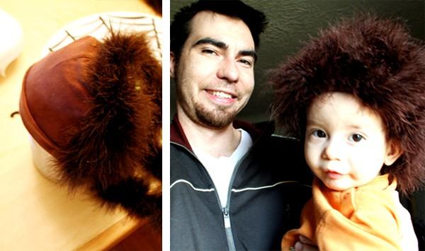 Baby Wig Tutorial - Easy