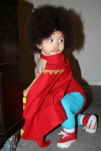 Baby Wig Tutorial - Nacho Libre