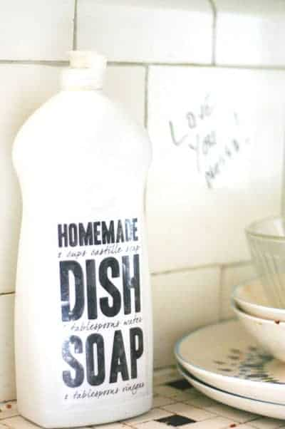 Update So The Jury Is Undecided On Homemade Dish Soap It Seems To Work For Some And Not At All Others Thanks A Comment From Kristine