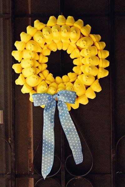 Peep Wreath 2011
