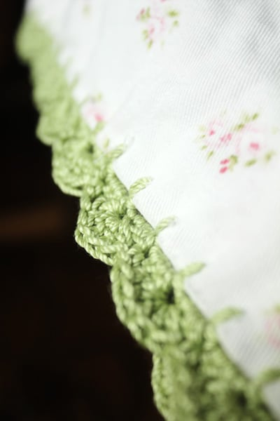 Crochet Trim Pillowcase
