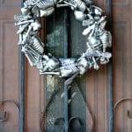 Skeleton Halloween Wreath