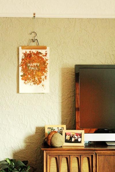 Fall Leaf Print
