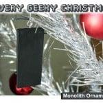 Monolith Ornament