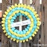 A Tried & True Project: Peep Wreath