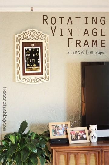 Rotating Vintage Frame