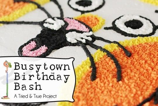 Max's Busytown Birthday Bash