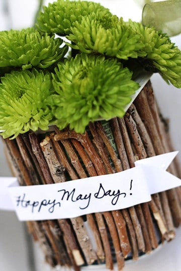 Recycled May Day Baskets - A Tried & True Project