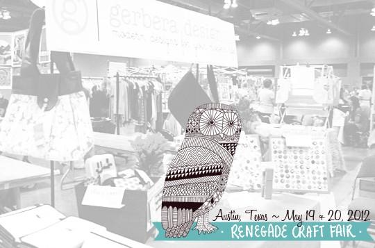 Let's Go Shopping – Renegade Craft Fair Austin