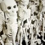 Dollar Store Skeletons!