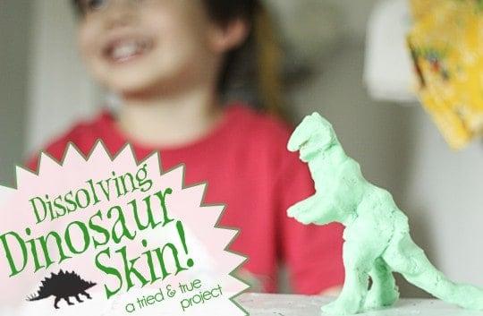 Dissolving Dinosaur Skin