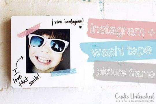 Instagram + Washi Tape Frame Tutorial