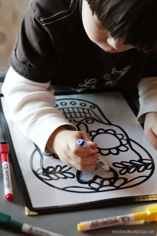 Dia De Los Muertos Free Printables Tried Amp True Creative