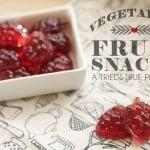 Vegetarian Fruit Snacks