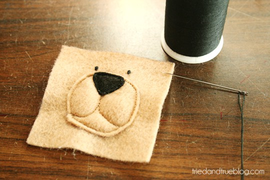 Animal Bean Bags from Tried & True | Add Eyes