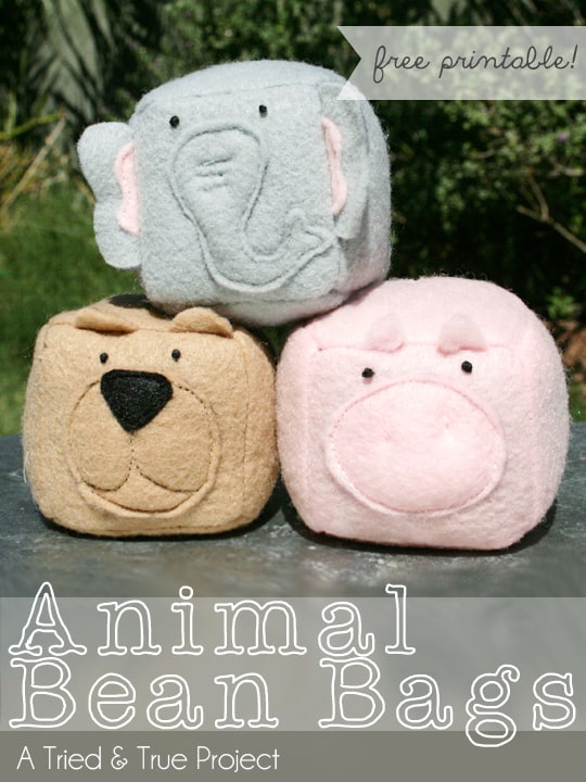 Animal Bean Bags