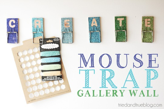 Mouse Trap Gallery Tutorial   A Tried & True Project