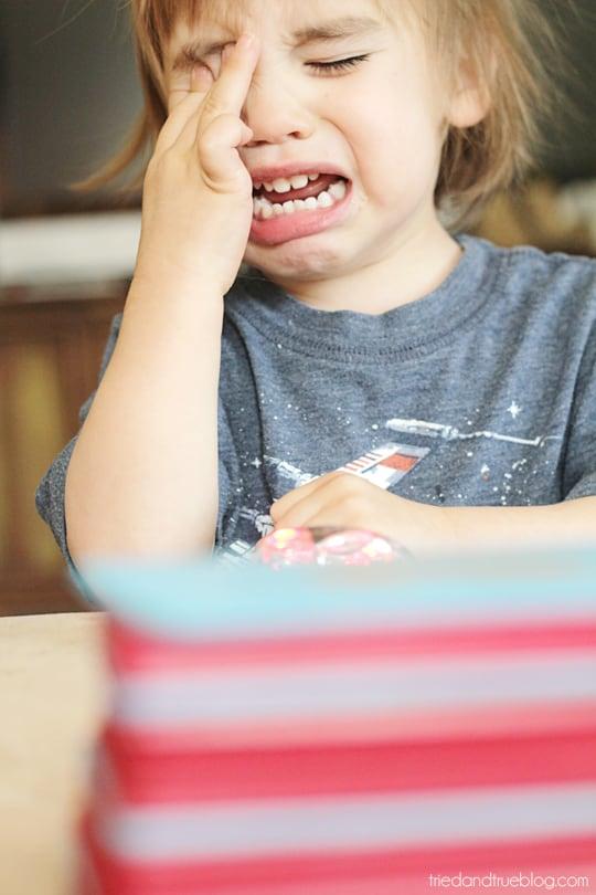 Montessori Sandpaper Letters - Sad Max