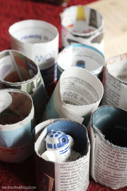 Paper Seed Pots: Tons of pots! | Tried & True