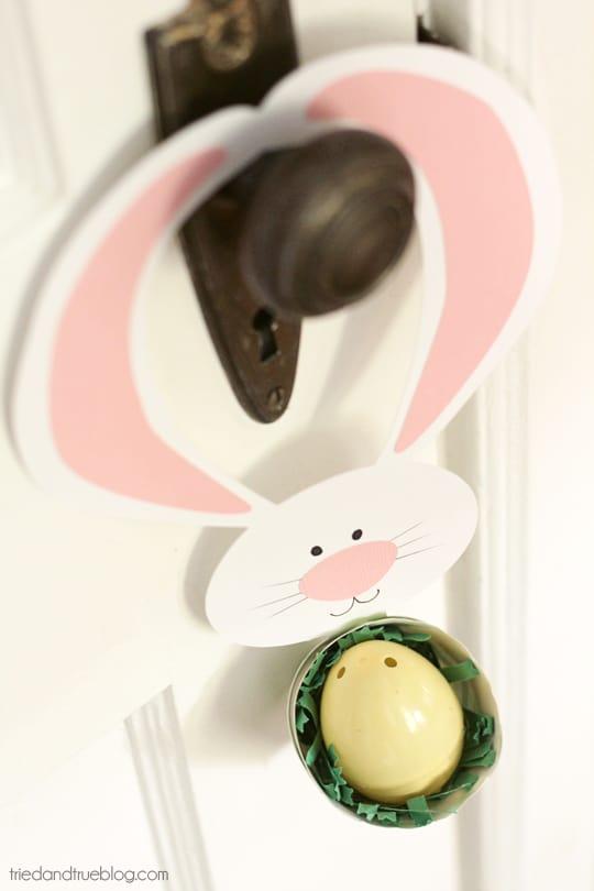 Easter Door Hanger - Fill with treats!