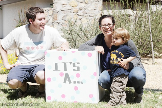 Gender Reveal Ballons | A Tried & True Project
