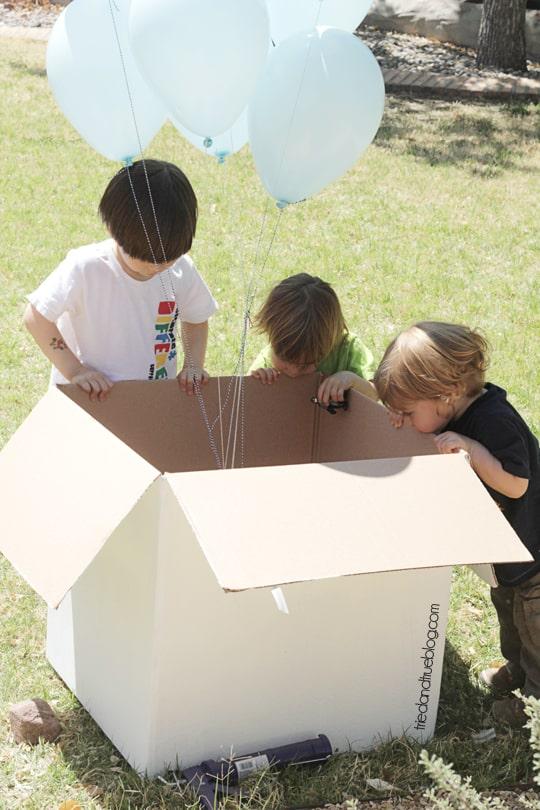 Gender Reveal Balloons: Where's the boy?!