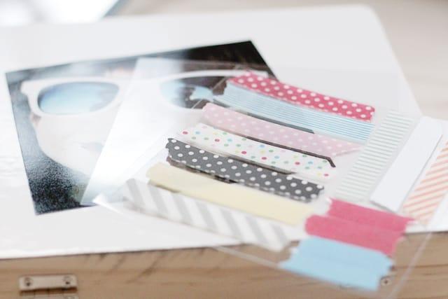 Reusable Washi Tape: Storage