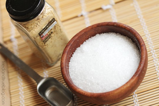 Mother/Daughter Spa Day: Epsom Salt & Ginger