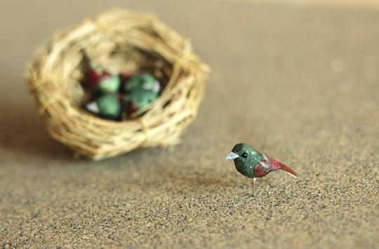 Sweet Tweet Pushpins from Tried & True -  Bird Pushpins