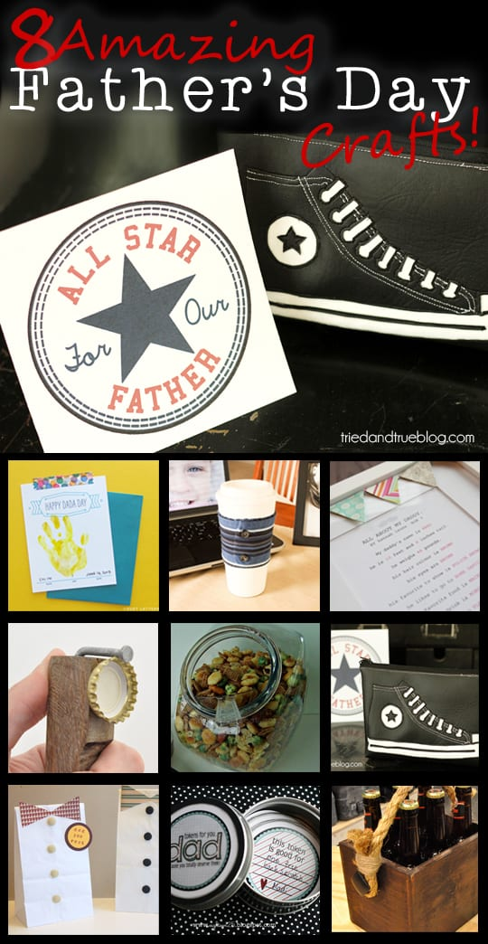 Celebrate that special Dad in your life with these projects!