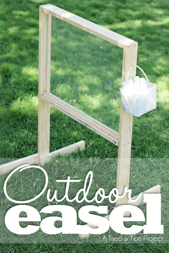 Outdoor Easel Tutorial Amp Plans Tried Amp True