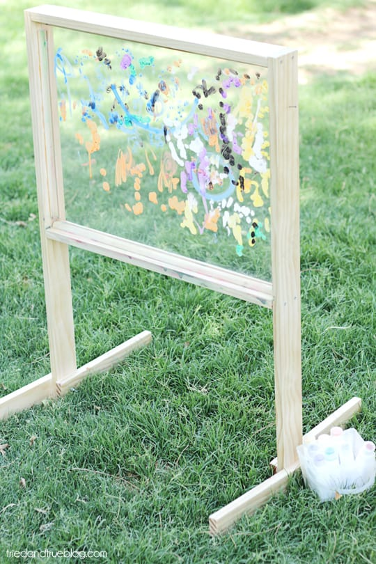 Outdoor Art with Tried & True: Easel