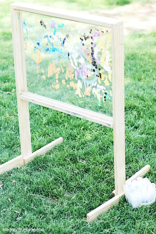 Outdoor Easel Tutorial & Plans: Outdoor Art