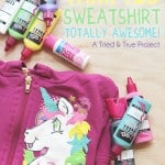 How To Make A Thrifted Sweatshirt Awesome!