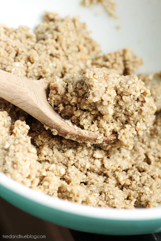 Healthy Thumbprint Cookies - Mix