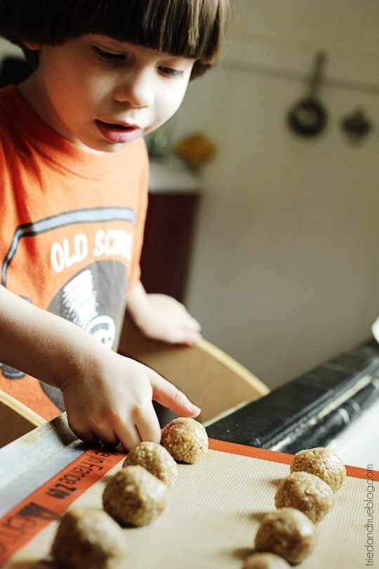Healthy Thumbprint Cookies - Press