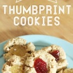 Make a healthy alternative to the classic Thumbprint Cookie!