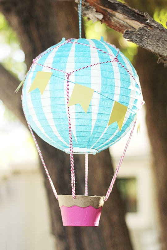 How to make a Vintage Hot Air Balloon - Hang