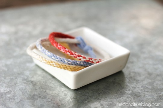 Ombre Kumihimo Bracelet - Ombre