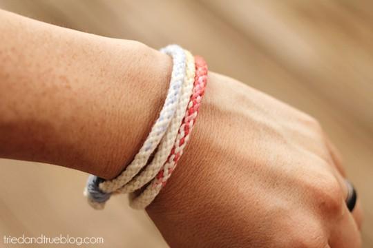 Ombre Kumihimo Bracelet - Stylin'