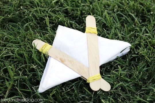 Natural Dye & Shibori - Triangle
