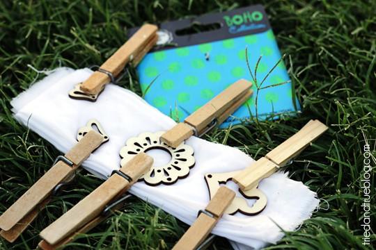 Natural Dye & Shibori - Wood