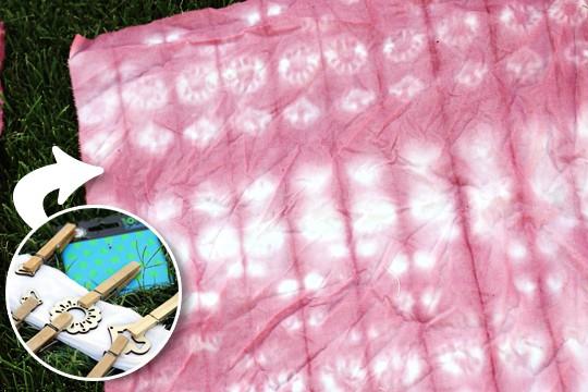 Natural Dye & Shibori - Result01