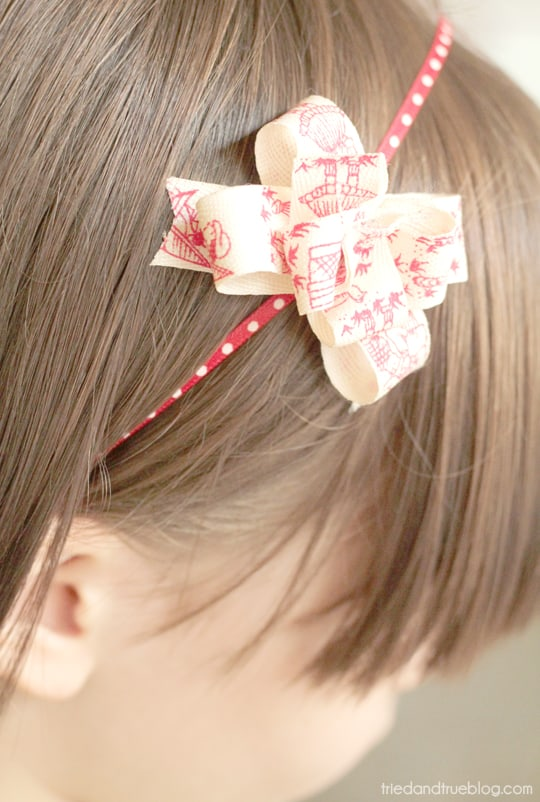 Make A Bow in 15 Minutes - Accessorize