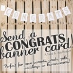 Congratulations Banner Card