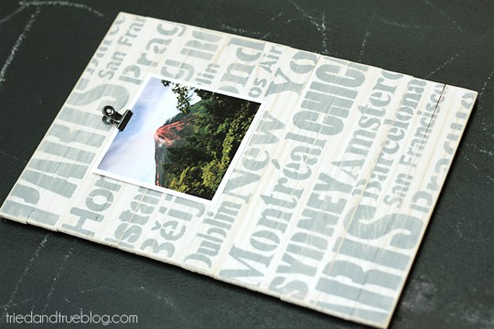World Traveler Picture Frame - Picture