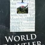 World Traveler Picture Frame