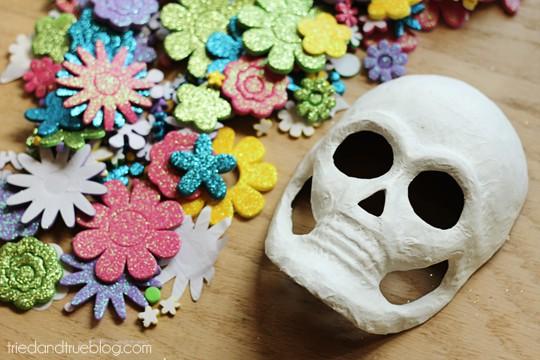 Dia de los Muertos Masks - Supplies