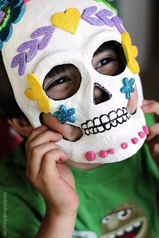 Dia de los Muertos Masks - So Happy!