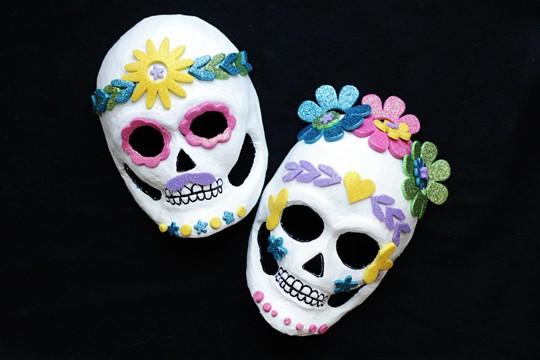 Dia de los Muertos Masks - Day of the Dead Masks